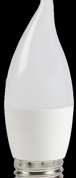 Лампа светодиодная ECO CB35 свеча на ветру 5Вт 230В 3000К E27 IEK